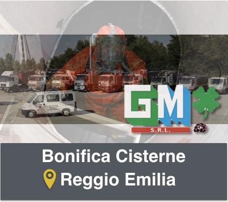 Bonifica Serbatoi Reggio Emilia