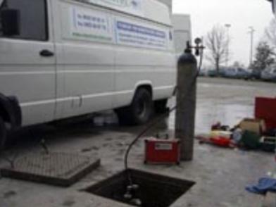 Prova di tenuta Serbatoio o Cisterna di Gasolio