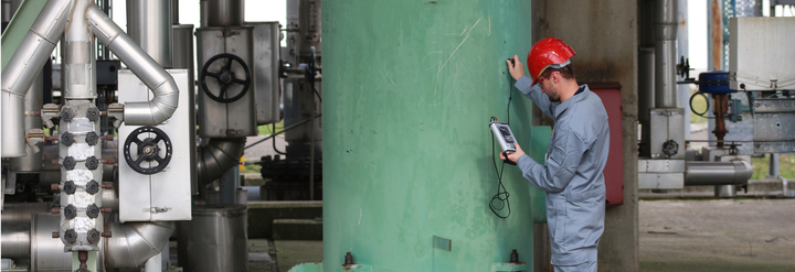 Prova di tenuta cisterna di Gasolio